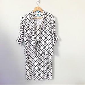 J. McLaughlin Catalina Cloth Dress Set Print